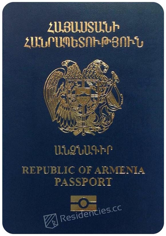 Passport of Armenia, henley passport index, arton capital's passport index 2020