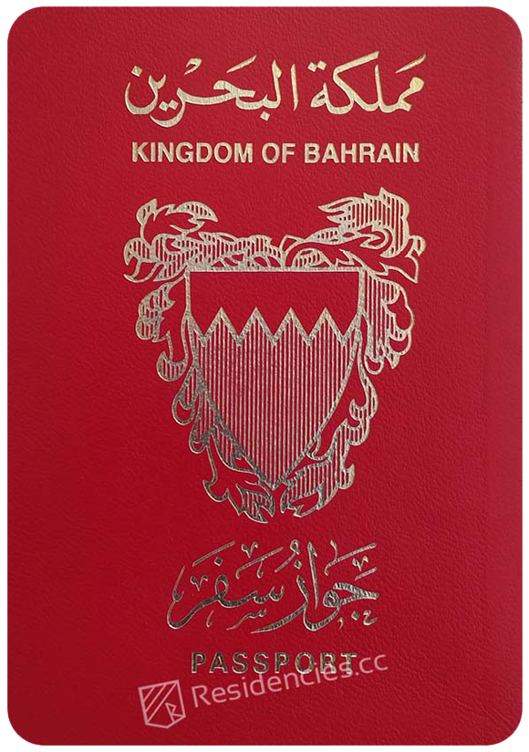 Passport of Bahrain, henley passport index, arton capital's passport index 2020