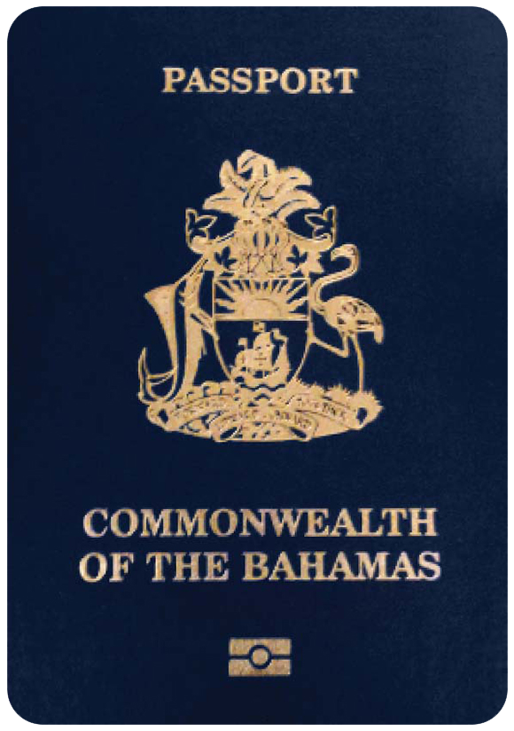 Passport of Bahamas, henley passport index, arton capital's passport index 2020
