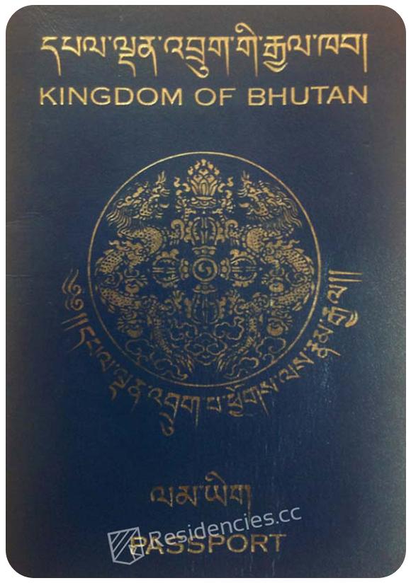 Passport of Bhutan, henley passport index, arton capital's passport index 2020