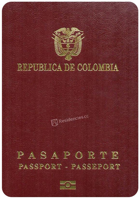 Passport of Colombia, henley passport index, arton capital's passport index 2020