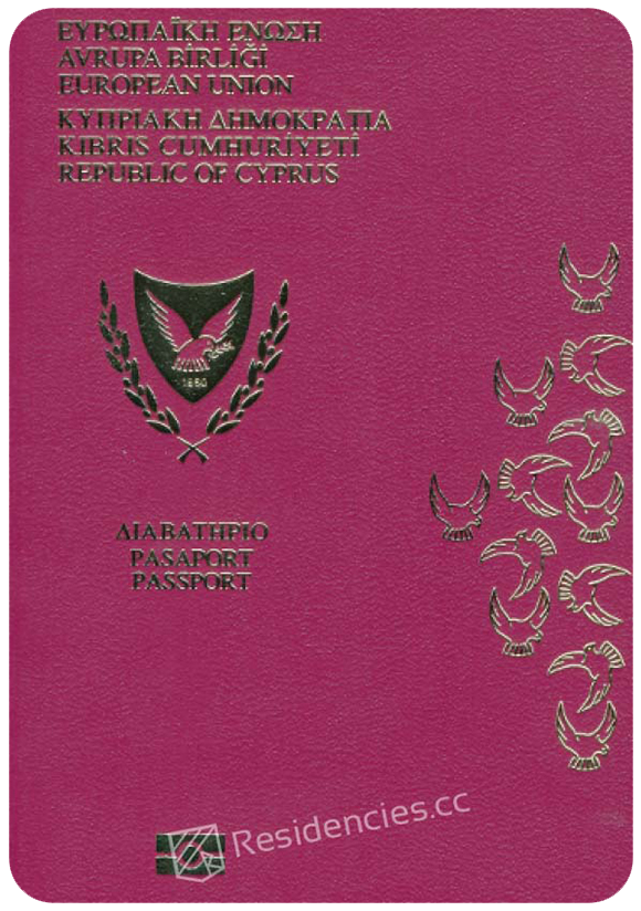 Passport of Cyprus, henley passport index, arton capital's passport index 2020
