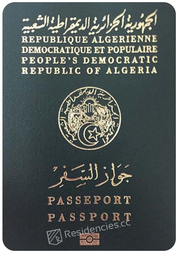 Passport of Algeria, henley passport index, arton capital's passport index 2020