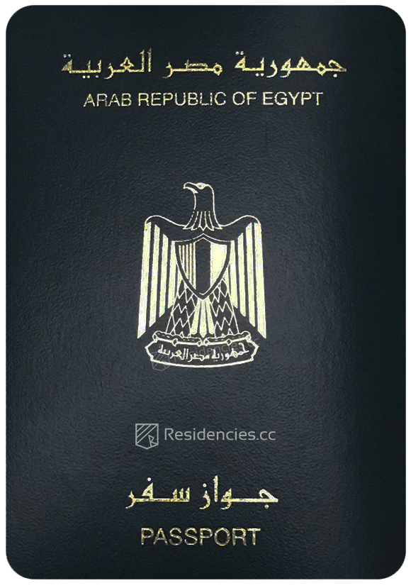 Passport of Egypt, henley passport index, arton capital's passport index 2020