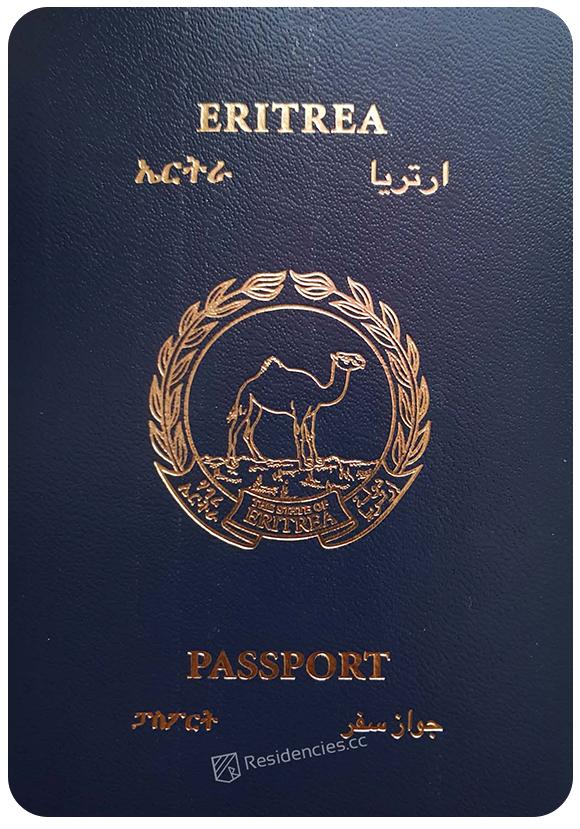 Passport of Eritrea, henley passport index, arton capital's passport index 2020