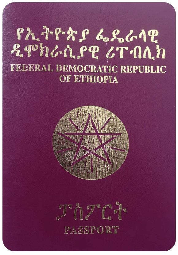 Passport of Ethiopia, henley passport index, arton capital's passport index 2020
