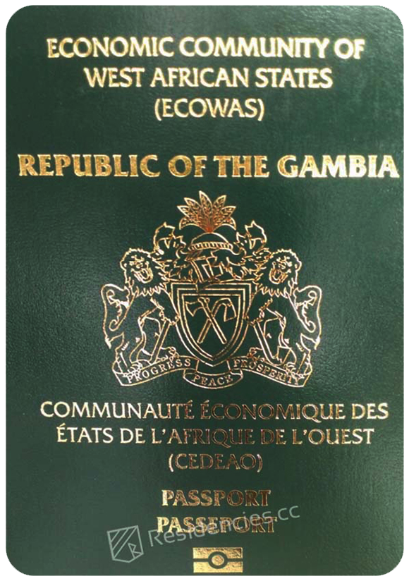 Passport of Gambia, henley passport index, arton capital's passport index 2020