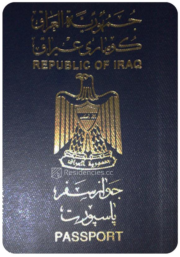 Passport of Iraq, henley passport index, arton capital's passport index 2020