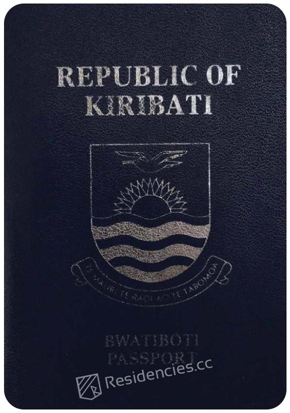 Passport of Kiribati, henley passport index, arton capital's passport index 2020