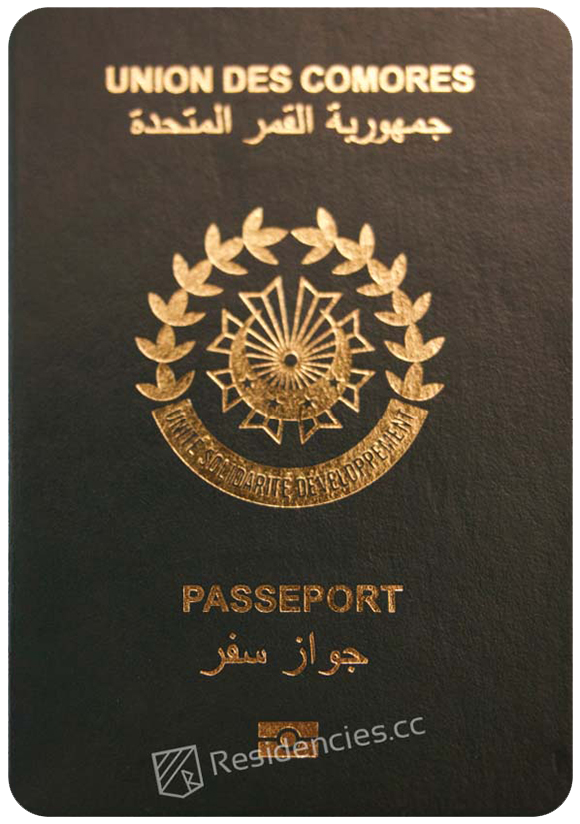 Passport of Comoros, henley passport index, arton capital's passport index 2020
