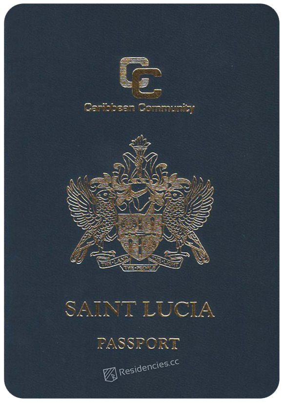 Passport of Saint Lucia, henley passport index, arton capital's passport index 2020