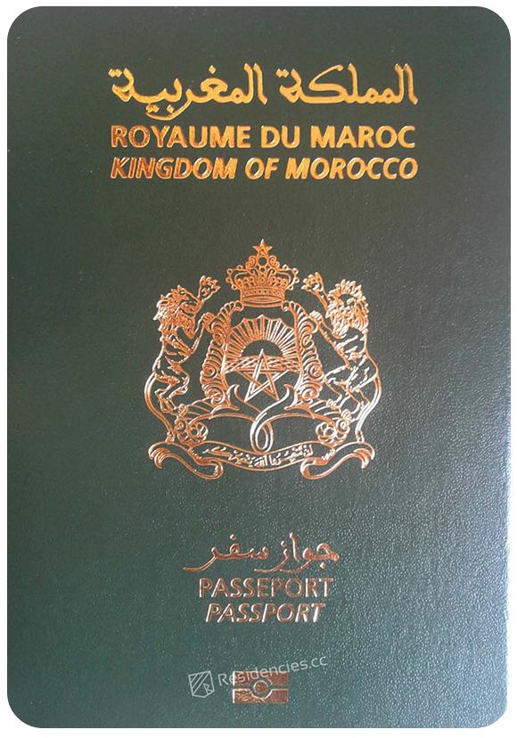 Passport of Morocco, henley passport index, arton capital's passport index 2020