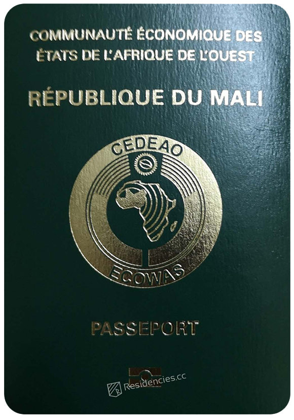 Passport of Mali, henley passport index, arton capital's passport index 2020
