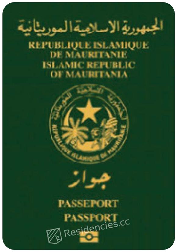 Passport of Mauritania, henley passport index, arton capital's passport index 2020