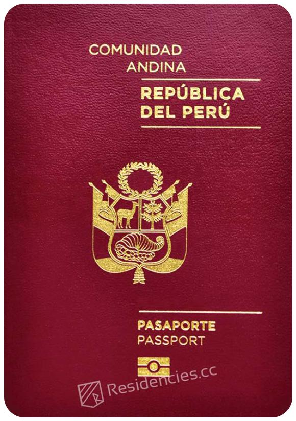 Passport of Peru, henley passport index, arton capital's passport index 2020