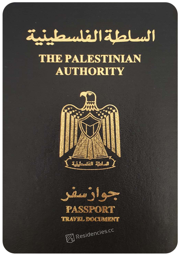 Passport of Palestinian Territories, henley passport index, arton capital's passport index 2020