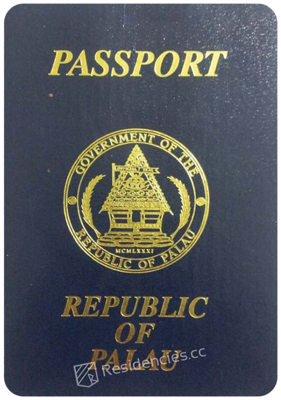 Passport of Palau, henley passport index, arton capital's passport index 2020
