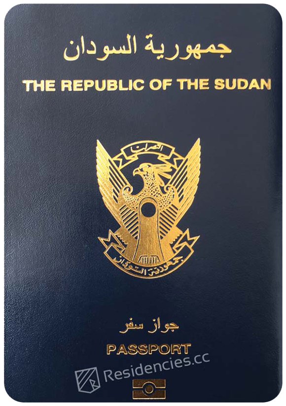 Passport of Sudan, henley passport index, arton capital's passport index 2020