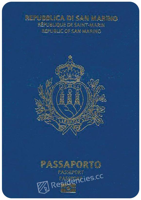 Passport of San Marino, henley passport index, arton capital's passport index 2020