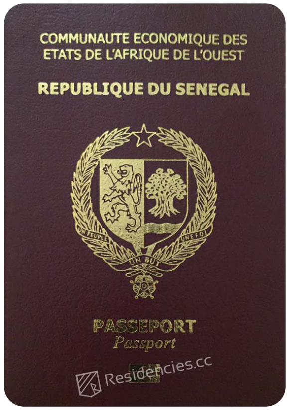 Passport of Senegal, henley passport index, arton capital's passport index 2020