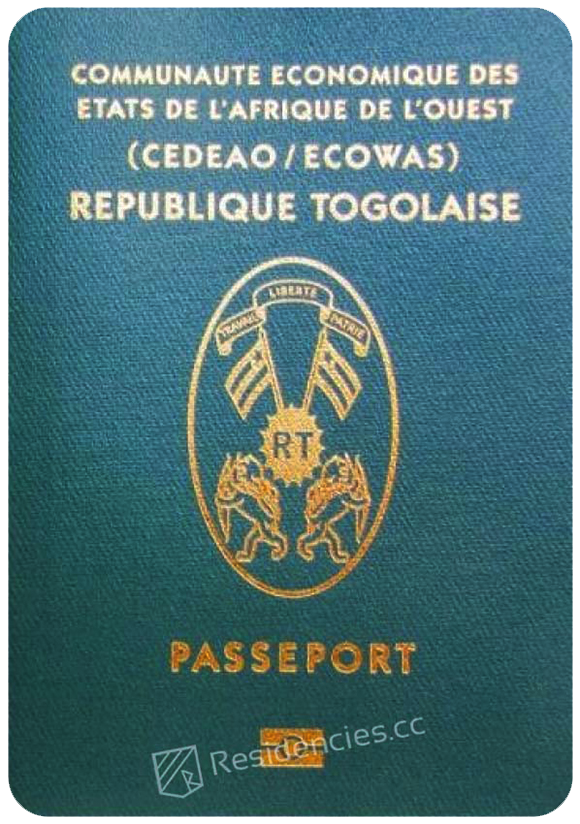 Passport of Togo, henley passport index, arton capital's passport index 2020
