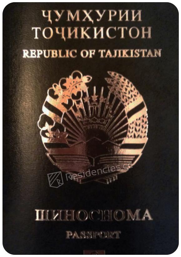 Passport of Tajikistan, henley passport index, arton capital's passport index 2020