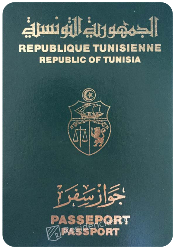 Passport of Tunisia, henley passport index, arton capital's passport index 2020