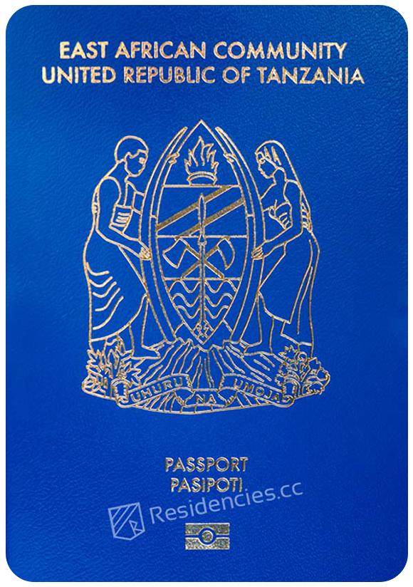 Passport of Tanzania, henley passport index, arton capital's passport index 2020