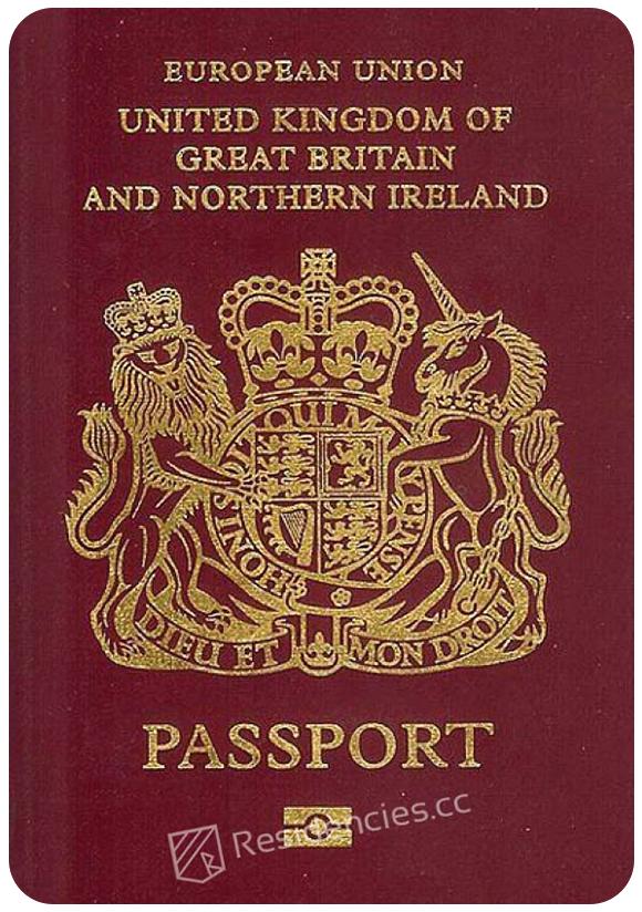 Passport of United Kingdom, henley passport index, arton capital's passport index 2020