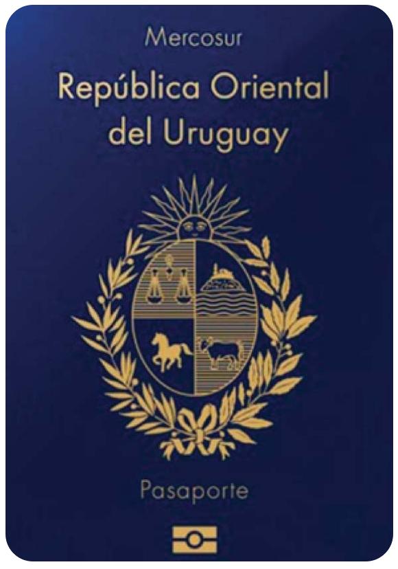 Passport of Uruguay, henley passport index, arton capital's passport index 2020