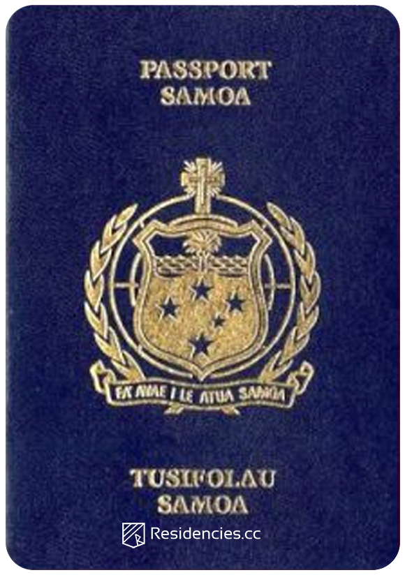 Passport of Samoa, henley passport index, arton capital's passport index 2020