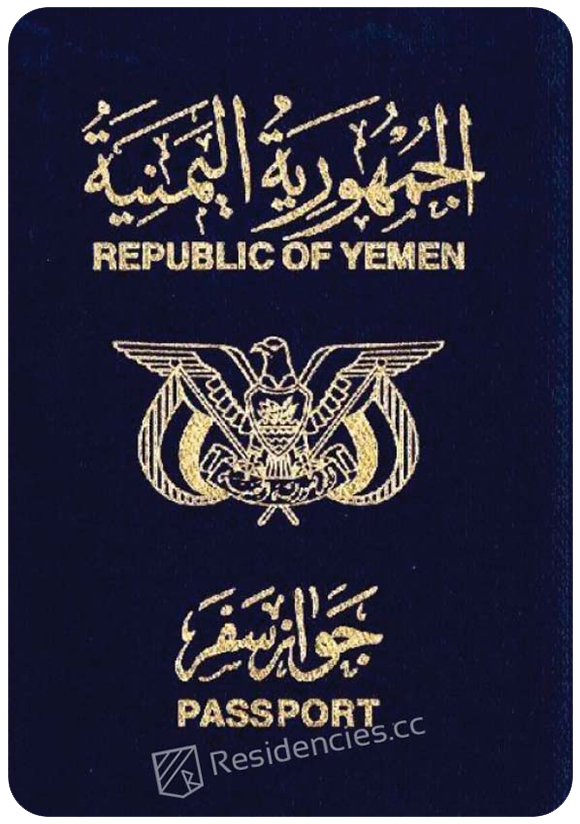 Passport of Yemen, henley passport index, arton capital's passport index 2020
