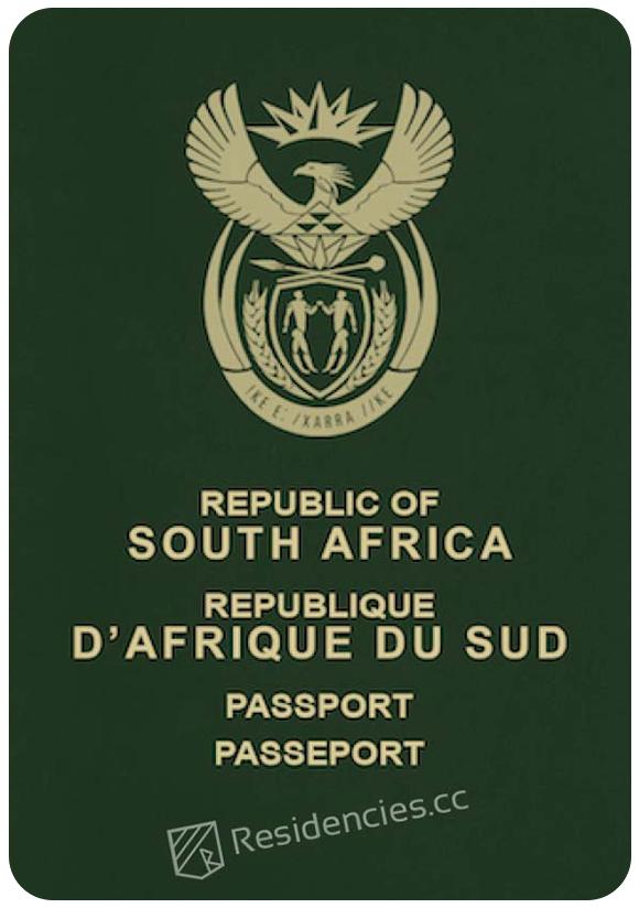 Passport of South Africa, henley passport index, arton capital's passport index 2020