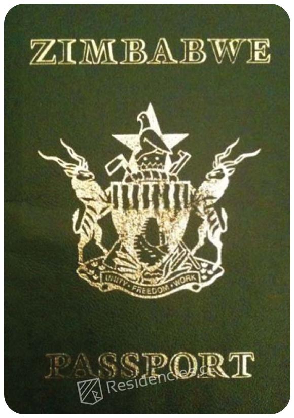 Passport of Zimbabwe, henley passport index, arton capital's passport index 2020