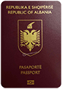 Passport index / rank of Albania 2020