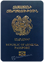 Passport of Armenia