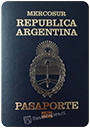 Passport of Argentina