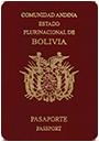 Passport index / rank of Bolivia 2020