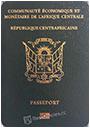 Passport index / rank of Central African Republic 2020