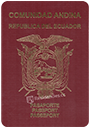 Passport of Ecuador