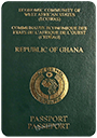 Passport index / rank of Ghana 2020