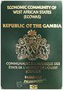 Passport index / rank of Gambia 2020