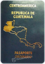 Passport of Guatemala