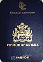 Passport index / rank of Guyana 2020