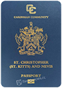 Passport index / rank of Saint Kitts and Nevis 2020