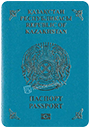 Passport of Kazakhstan