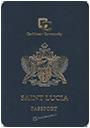 Passport of Saint Lucia