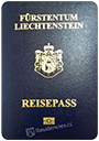 Passport of Liechtenstein