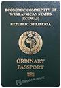 Passport index / rank of Liberia 2020