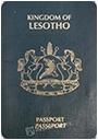 Passport index / rank of Lesotho 2020